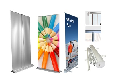 Pop up banner stands boost